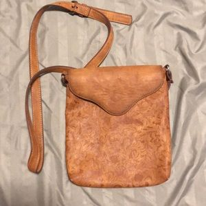 Handbags - Tooled leather adjustable purse